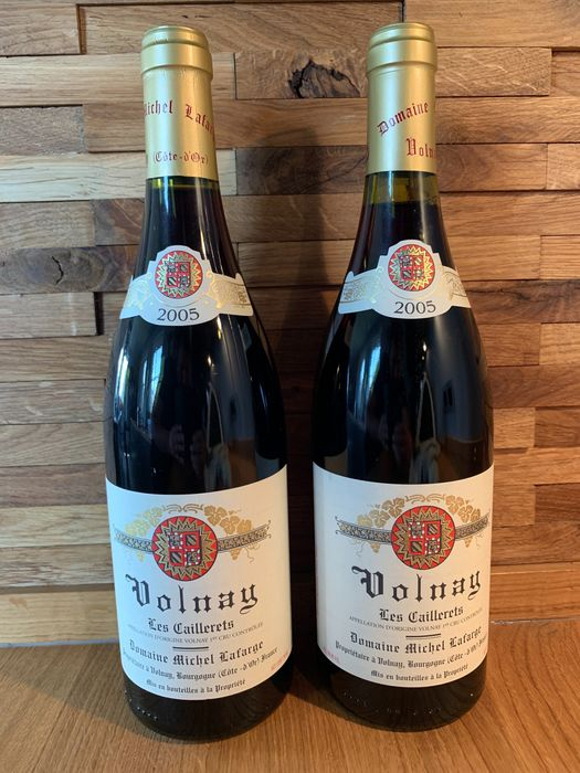 """2005 Volnay 1° Cru """"Les Caillerets"""" - Domaine Michel Lafarge - Bourgogne - 2 Normalflasche (0,75 Liter)"""