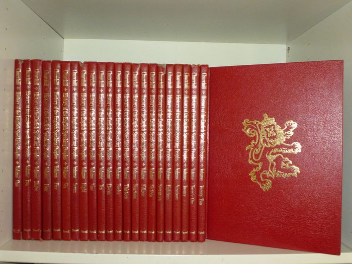 Sir Winston Churchill - History of the english speaking peoples : 23 volume set - 1969/1971