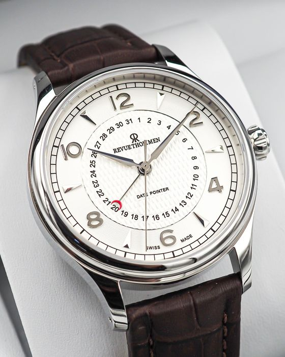 """Revue Thommen - Day Pointer Automatic - """"NO RESERVE PRICE"""" 10012.2532 - 男士 - 2011至今"""