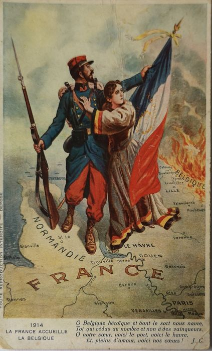 Military, World War 1 - Postcards (Collection of 80) - 1906