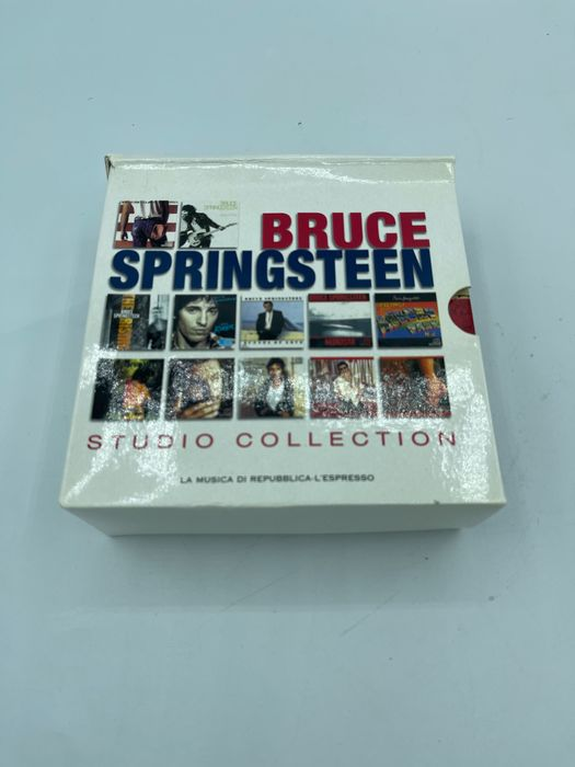 Bruce Springsteen - Studio Collection Rare Italian White Edition 14 CD Mini LP - Multiple titles - CD Box set, Limited edition - 2009/2009