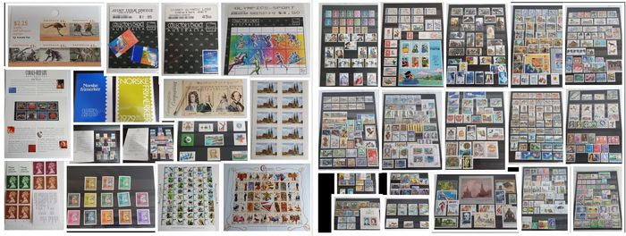 Mondo 1967/2011 - Various series and stamps