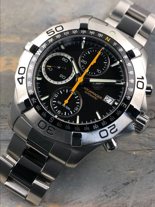TAG Heuer - Aquaracer Chronograph Automatic - CAF2113 - Heren - 2011-heden