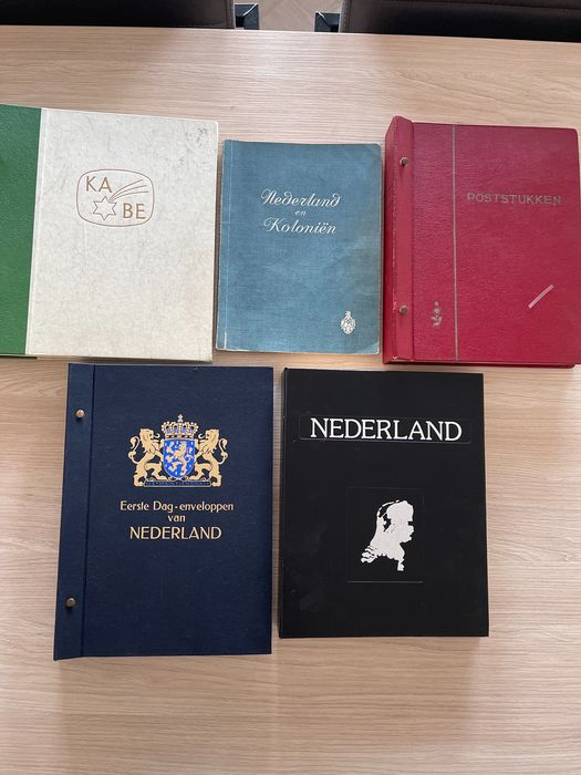 Europa 1898/1982 - Superb collection of Overseas Territories, The Netherlands, DDR, BRD and FDCs from various countries
