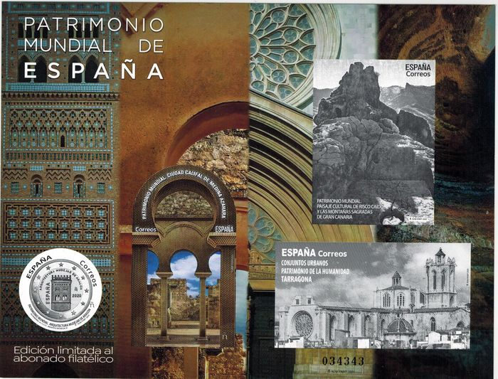 Spanje 2008/2020 - Complete collection of chalcographic proofs