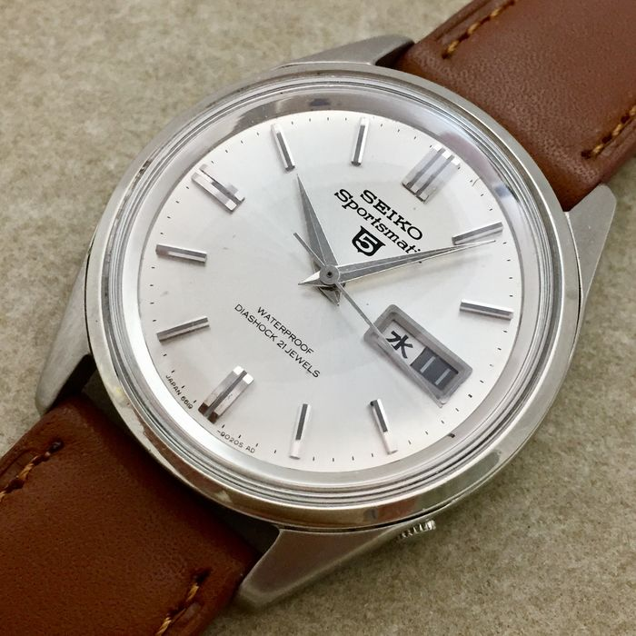 """Seiko - """"NO RESERVE PRICE"""" 5 Sportsmatic ( JDM ) - 6619-9010 - Homme - 1960-1969"""