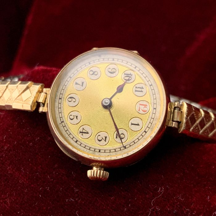 Rolex - Gold Cocktail watch - NO RESERVE PRICE - Donna - 1930s