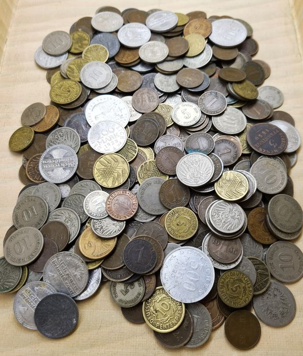 Germany, Empire. 400 Various Coins