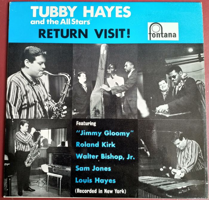 Tubby Hayes And The All Stars - Return Visit! [Dutch Mono Pressing] - LP Album - 1963/1963