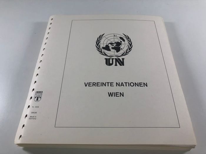 Verenigde Naties - Wenen 1979/1999 - complete Collection MNH with all minisheets on LINDNER Preprint