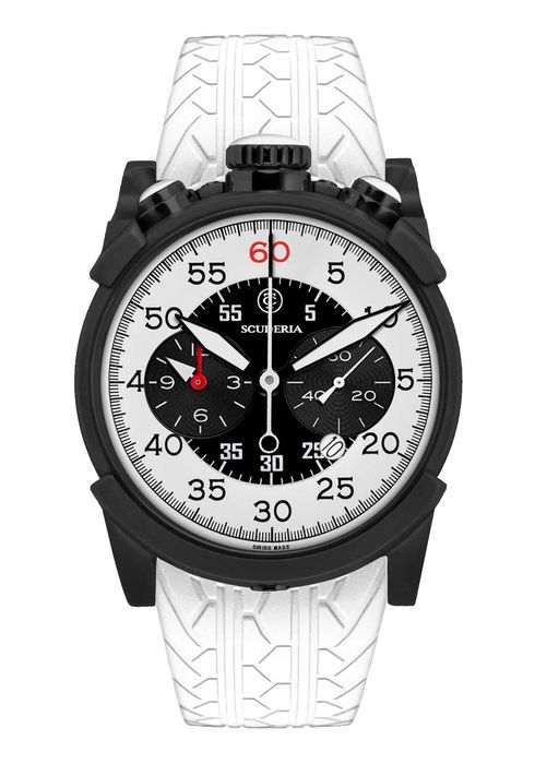 """CT Scuderia - Check Flag - """"NO RESERVE PRICE"""" - Bullhead Chronograph - CW10116N19 - Heren - 2011-heden"""