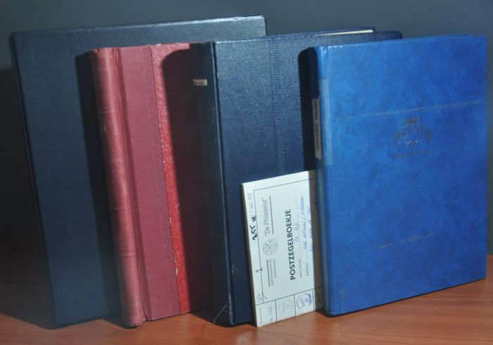 Territori d'Oltremare Olandesi - Batch in various stock books and in a DAVO LX album with slipcase