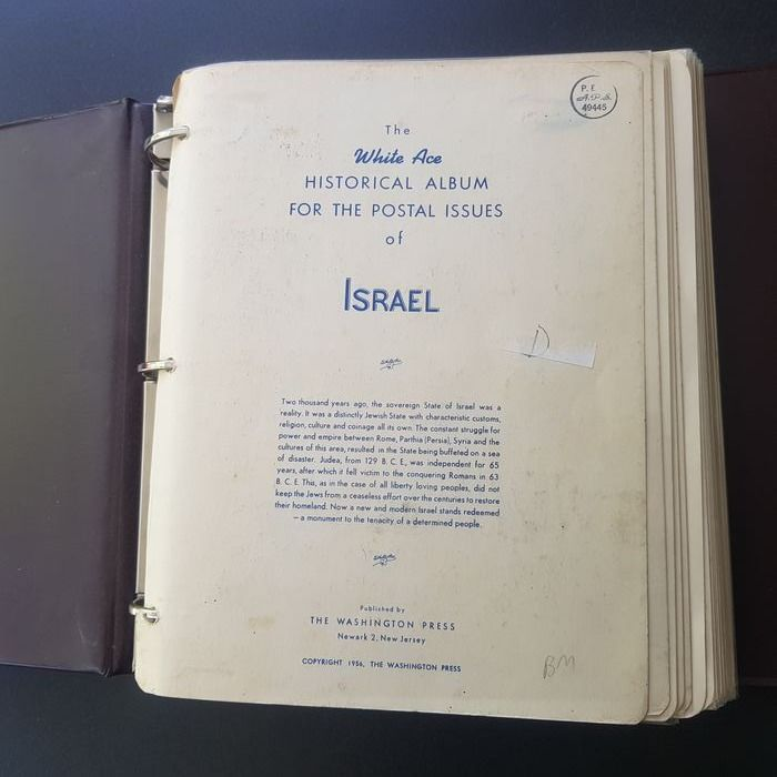 Israele 1948/1990 - Large collection in an album