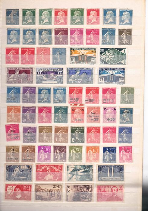 Francia - Important collection, everything perfectly MNH - Yvert