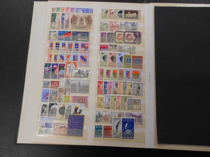 Luxembourg - Extensive collection on stock pages - Yvert