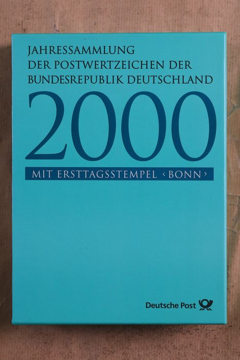 Germania 2000/2013 - Complete collection of fourteen luxury year books with special stamp