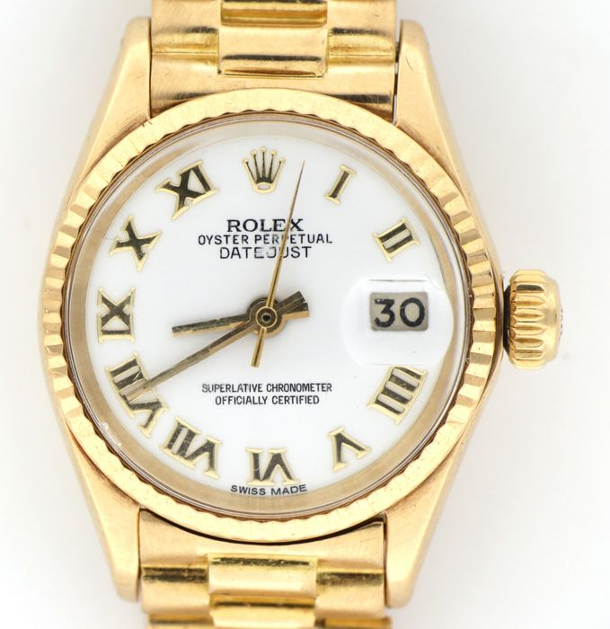 Rolex - Date Just - President Lady - 6517 - Femme - 1970-1979
