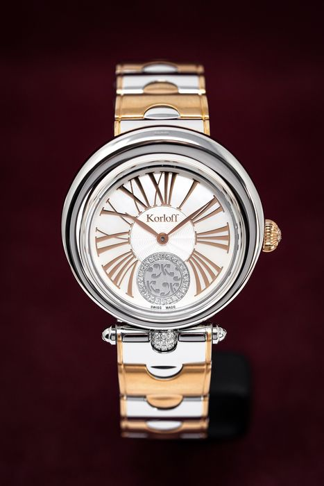 """Korloff - Diamonds watch Limited Edition Luna Collection Mother of Pearl Dial - LRW1BBIC """" NO RESERVE PRICE """" - Donna - 2011-presente"""