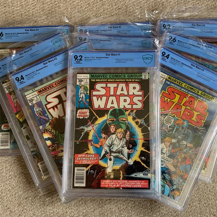 Star Wars 1-10 - Star Wars - Softcover - First edition - (1977)