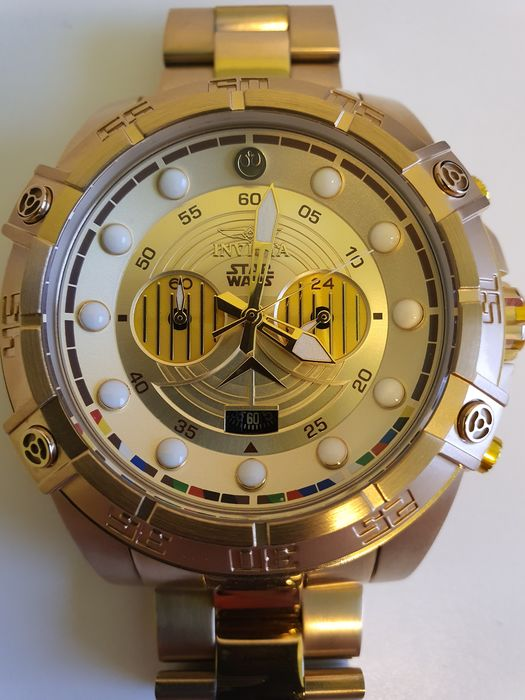 Star Wars - C-3PO - Invicta - Watch - automatic winding model - limited edition - with original box