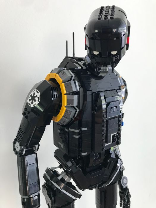 LEGO - Star Wars - MOC UCS - K-2SO Security droid - 3.400 pieces