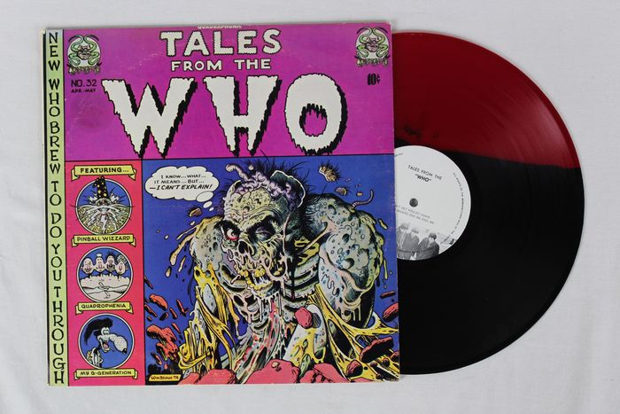 William Stout - vinyl LP - Tales from The WHO - (1974)