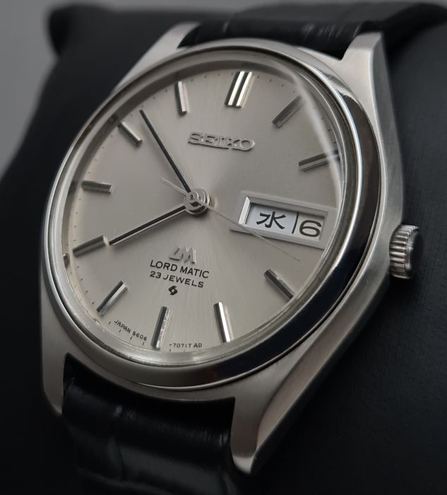 Seiko - 'NO RESERVE PRICE' Lord Matic BEIGE DIAL - 5606-7070 - Homme - 1970-1979