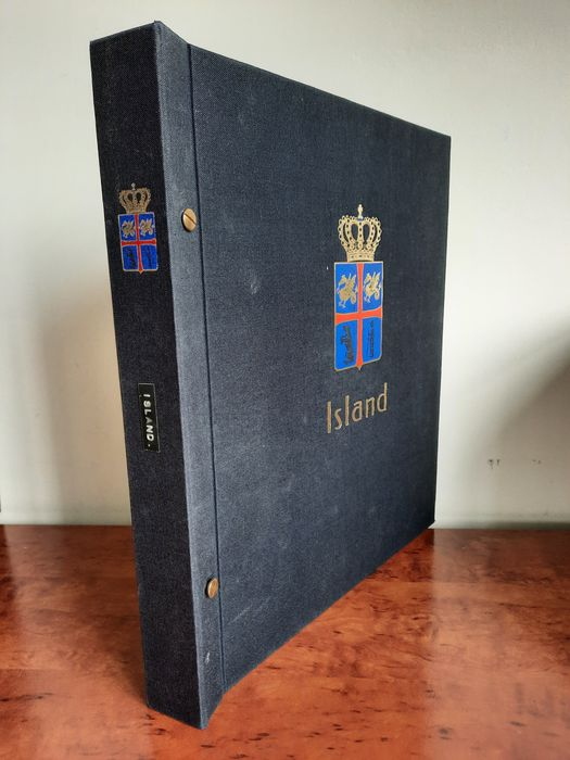 Iceland 1873/1989 - Far advanced collection with many high denominations + extras in a DAVO album - Michel
