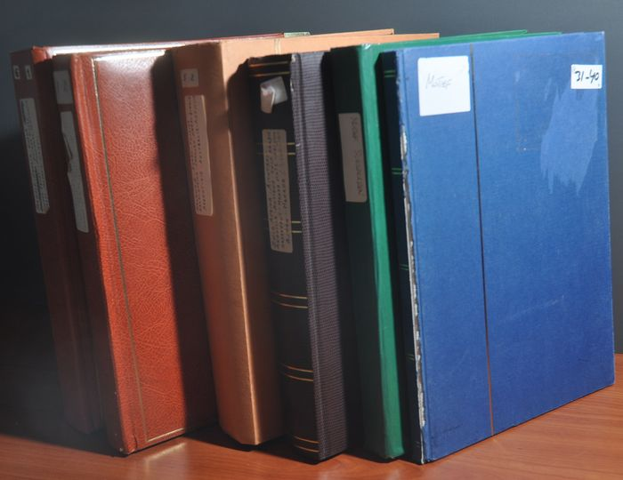 Tematica mondiale - Batch in various stock books