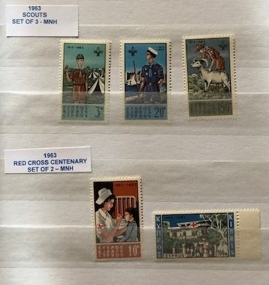 Cipro 1961/1992 - Collection with 62 full sets & Miniature Sheet