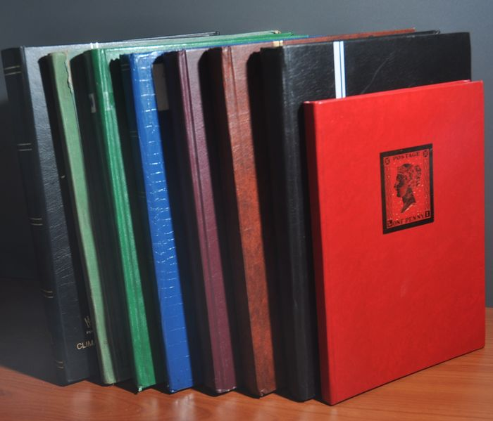 Mondo - Batch in various stock books and in an old album
