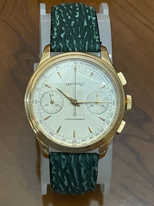 Eberhard & Co. - Oldflyer Oro 18kt limited edition - Uomo - 1990-1999