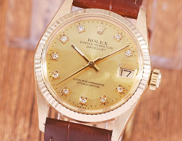 Rolex - Oyster Perpetual Date Just - 6827 - Unisex - 1980-1989