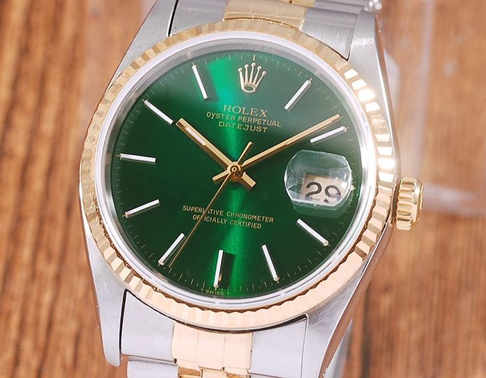 Rolex - Oyster Perpetual DateJust - 16233 - Uomo - 1990-1999
