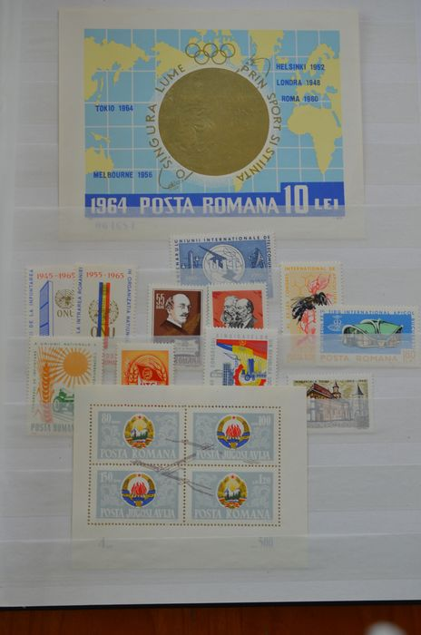 Lot 48364611 - International Stamps  -  Catawiki B.V. Weekly auction - Note the closing date of each lot