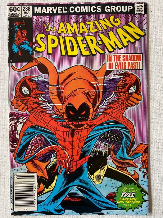 Amazing Spider-Man 238 Key Issue First Hobgoblin Appearance - Very High Grade Amazing Spider-man - Hobgoblin Appearance With Tattooz Still In The Book - Softcover - First edition - (1983/1983)