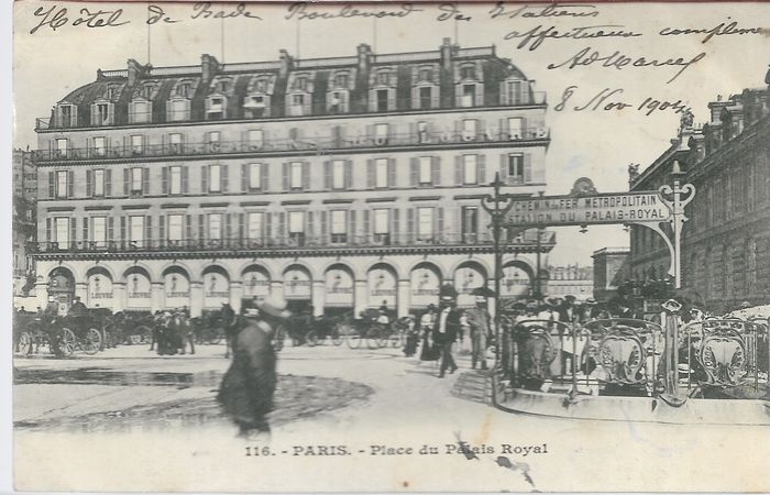 France - rare betting cards - Postcards (Set of 100) - 1900-1930
