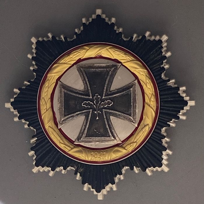 Germany - German cross in gold, executed in 1957, - Medals of honor, orders, badges