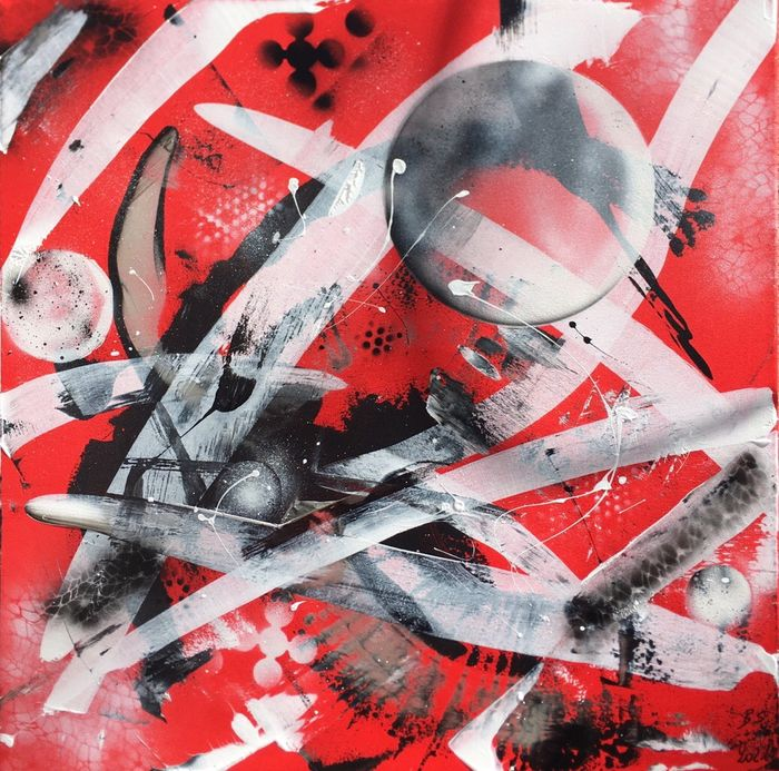 Alberto Stocco - Abstract - red passion