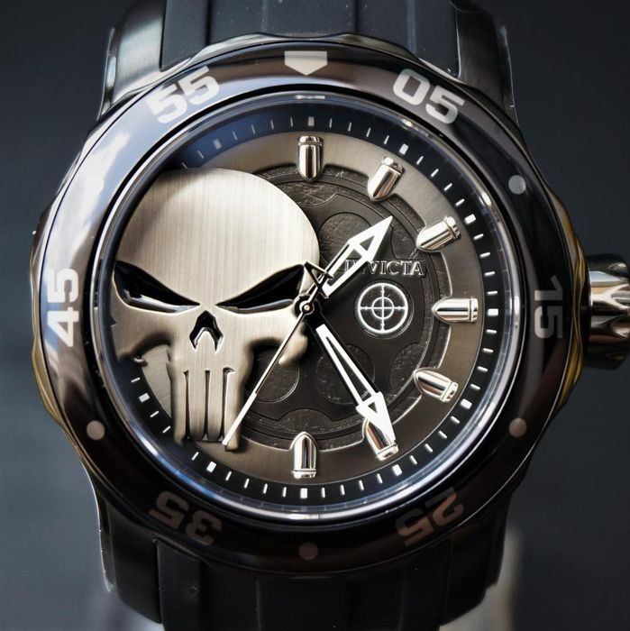 Marvel: The Punisher - Invicta - Watch - Chronograph model - Limited edition - with original box