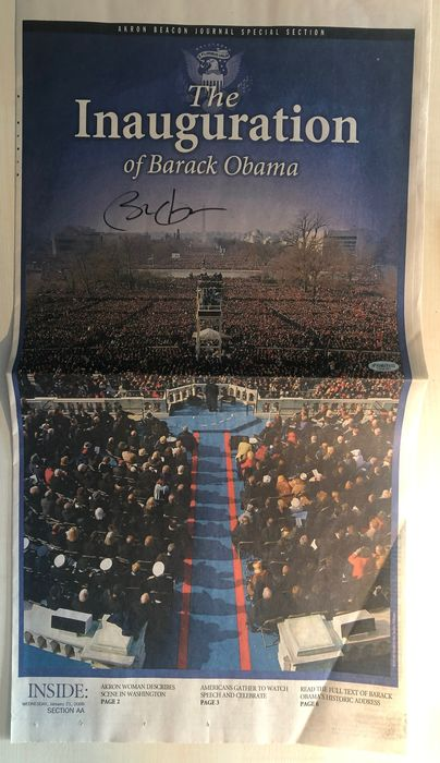 Akron Beacon Journal Special Section - Obama signed: The Inauguration of Barack Obama - 2009
