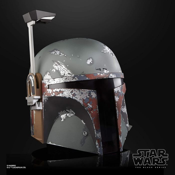 Star Wars Episode V: The Empire Strikes Back - Boba Fett - Electronic Helmet (40th Anniversary) Life Size 1/1 - Hasbro - Édition collectors The Black Series