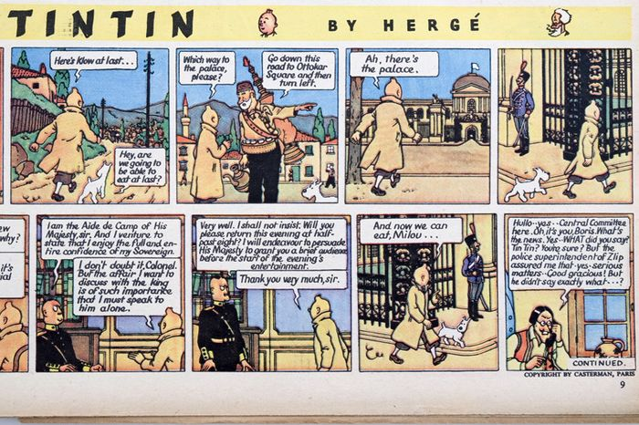 Eagle - Lot of 81 magazines, some of which contain Tintin strip - Eerste druk - (1950/1961)