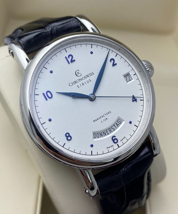 Chronoswiss - Sirius Day Date - Ref. CH 1923 BL - Heren - 2011-heden