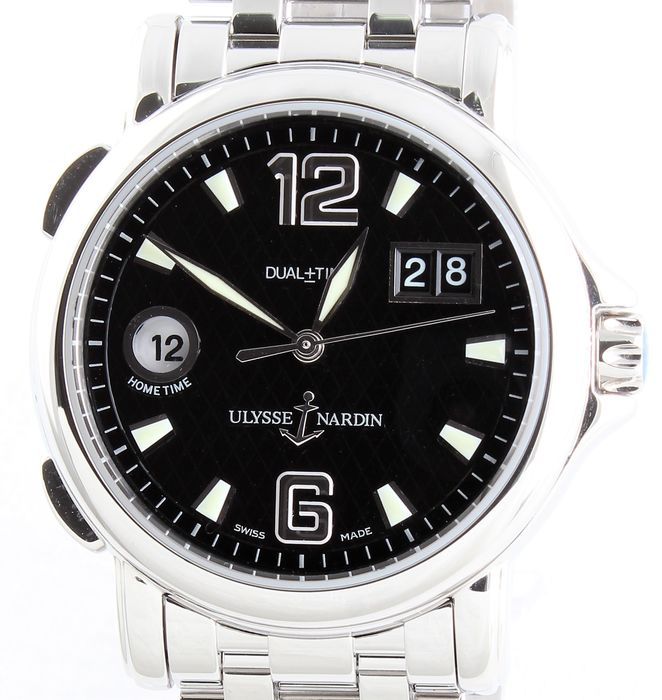 Ulysse Nardin - San Marco GMT - Big Date - UTC Dual Time - Automatic - Excellent Condition - Ref. No: 223-88 - Uomo - 2000-2010