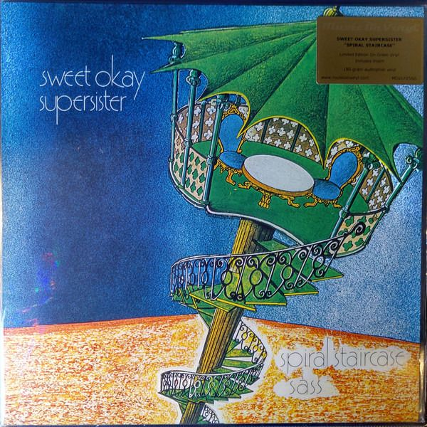 """Supersister  LP  """" Sweet Okay Supersister """" - Very Limited Re-Issue Edition of  500 Copies Only On Coloured Vinyl - LP Album - 2019/2019"""