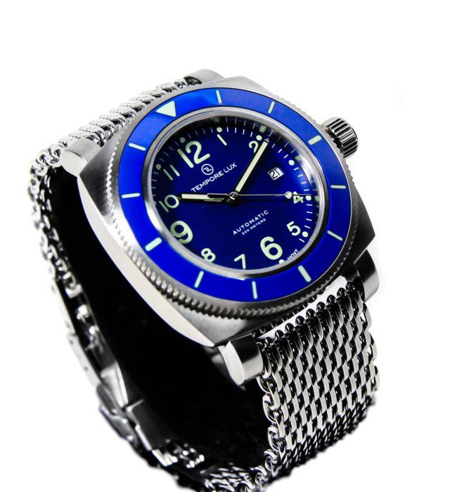Tempore Lux - New V One Swiss Automatic 02 Blue - 男士 - 2020