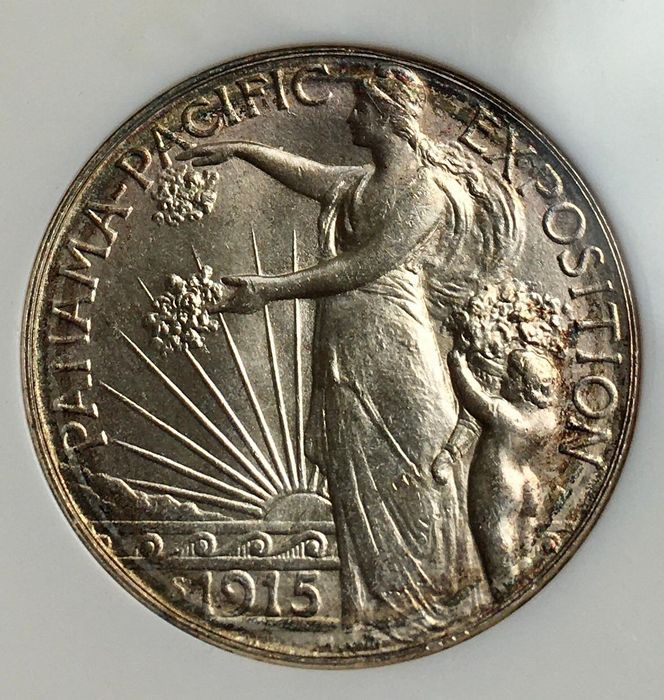 United States. 50 Cents 1915 NGC MS65