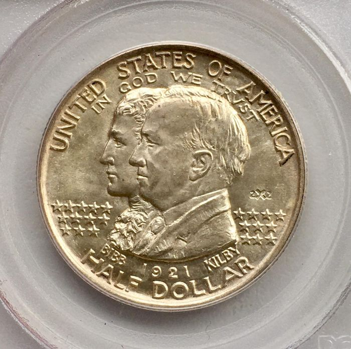 United States. 50 Cents 1921 PCGS MS65
