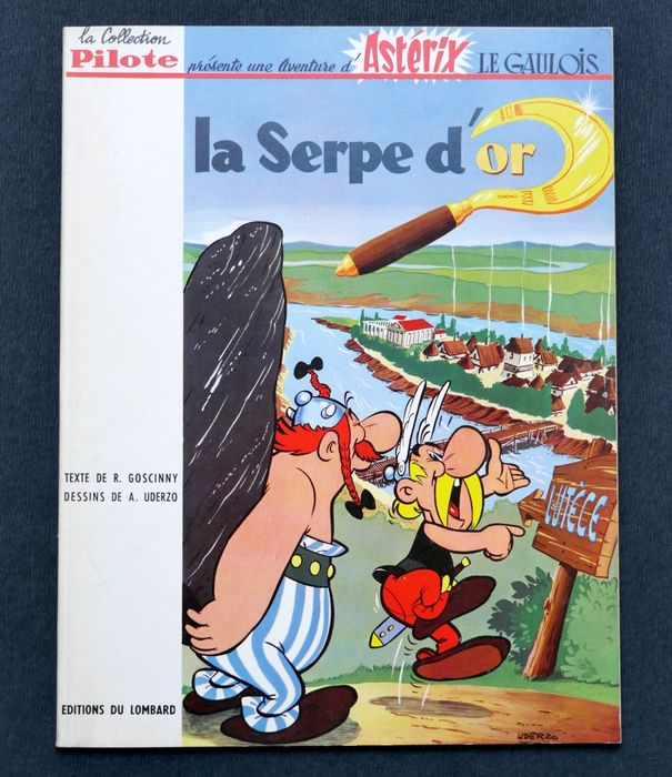 Asterix T2 - La Serpe d'Or - Softcover - First edition - (1962)